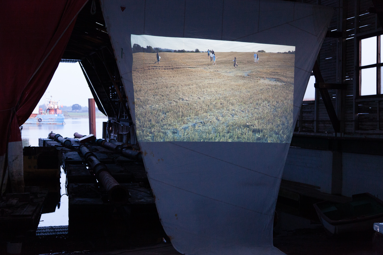 Richard Melkonian & Elodie Chiper, Video Installation